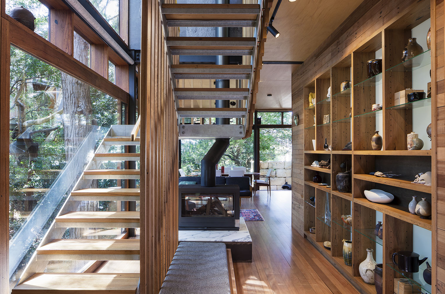 Treehouse Stairwell